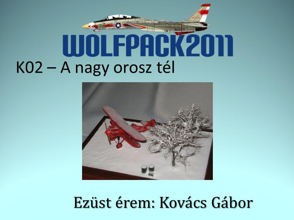 Ezüst érem: Kovács Gábor K02 – A nagy orosz tél