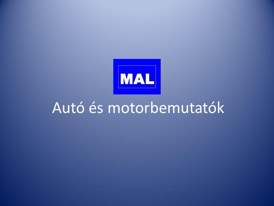Autó és motorbemutatók