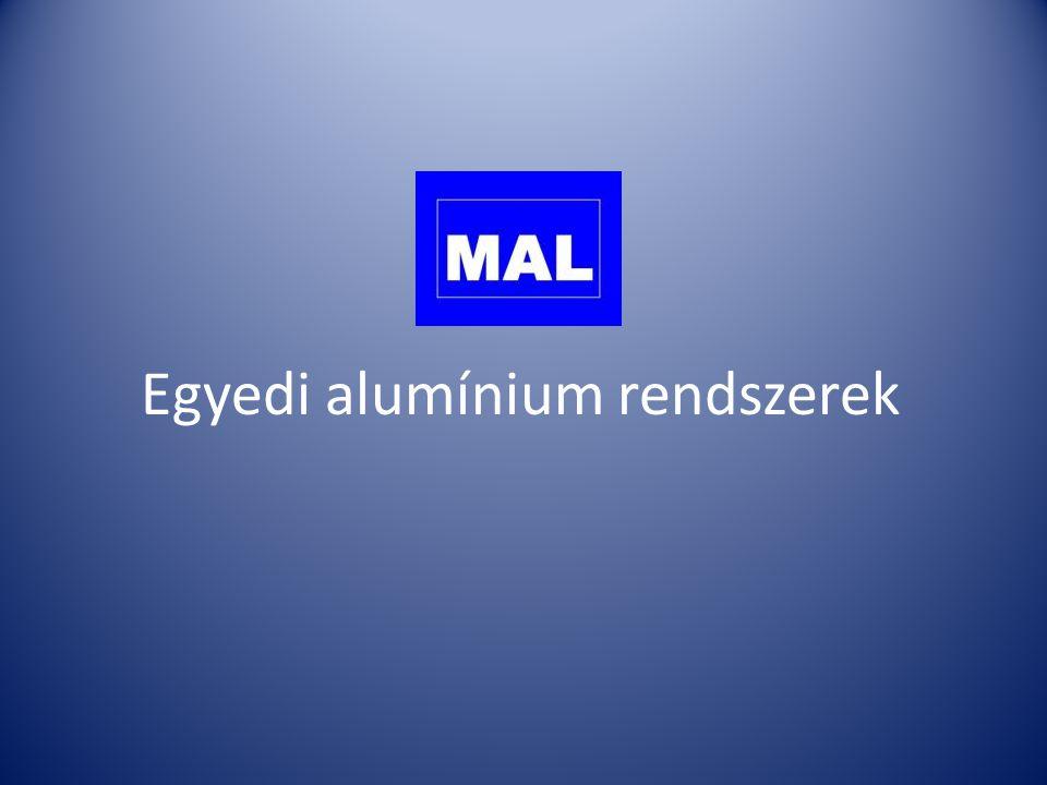 Egyedi alumínium rendszerek