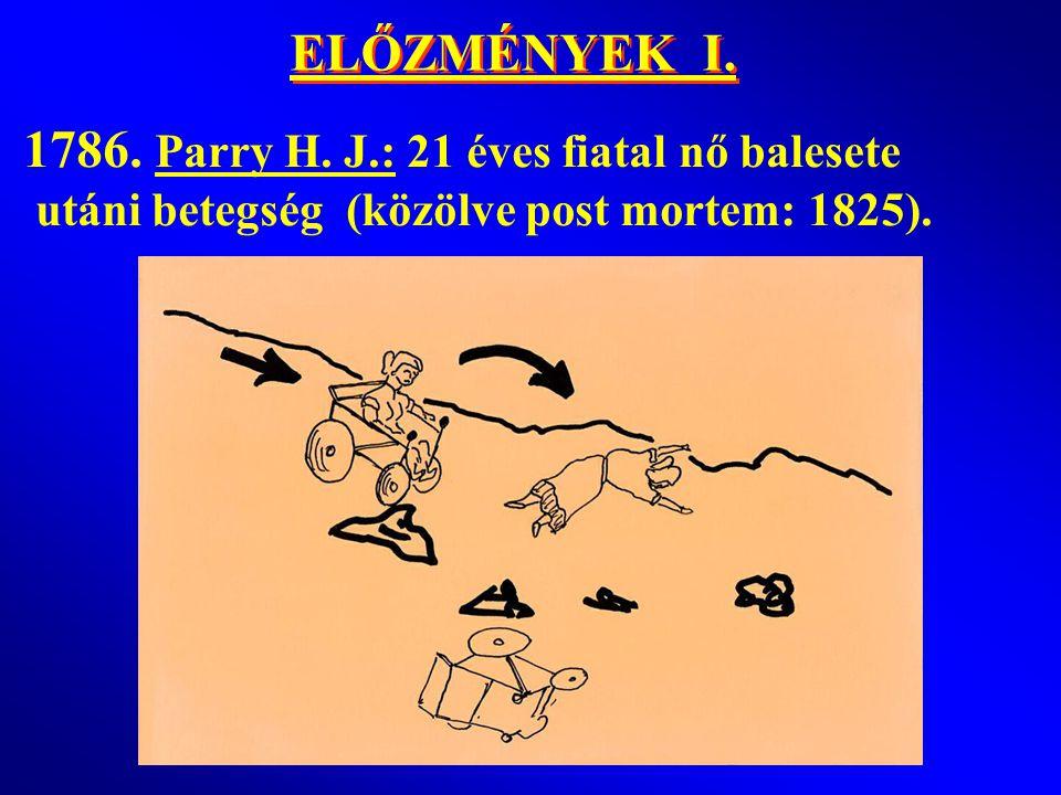 ELŐZMÉNYEK I.1786. Parry H.