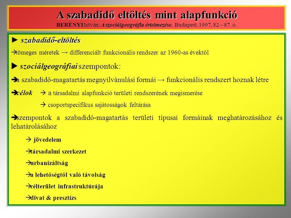 a falusi térségek  a falusi térségek tipizálása II.
