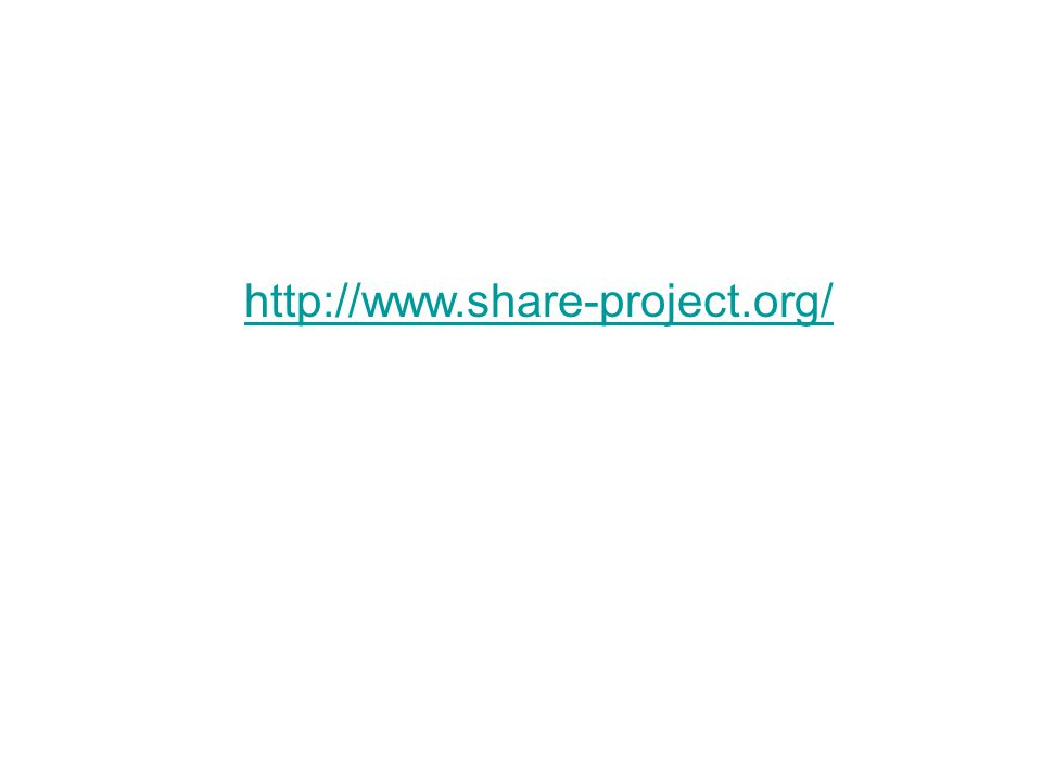 http://www.share-project.org/