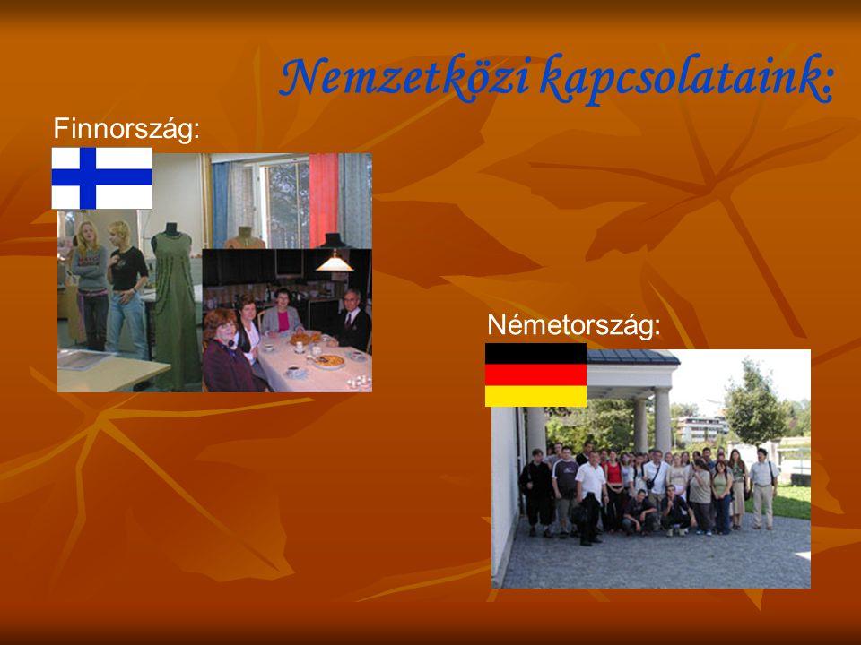 Nemzetközi kapcsolataink: Finnország: Németország: