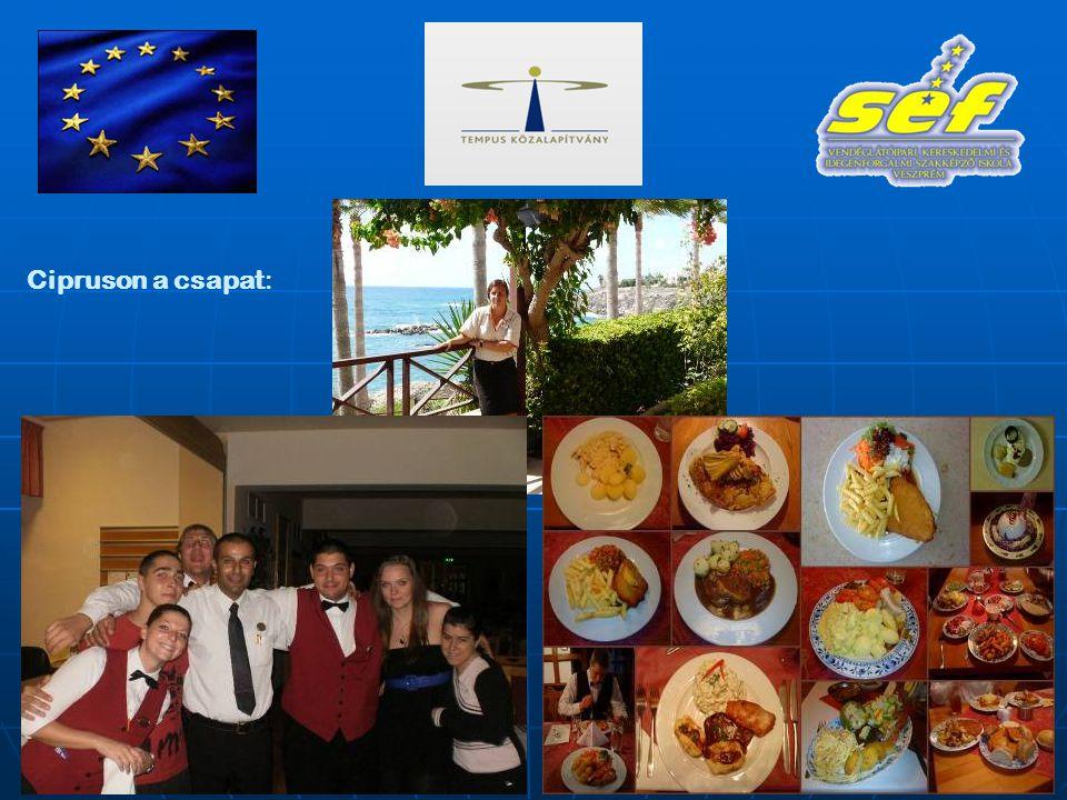 Cipruson a csapat:
