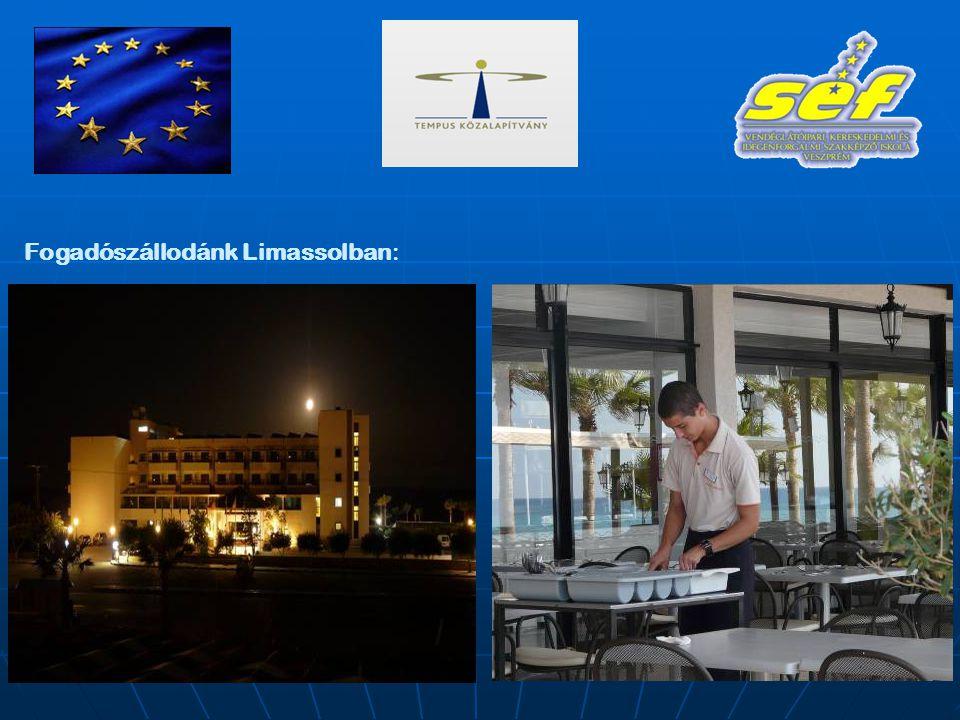 Fogadószállodánk Limassolban: