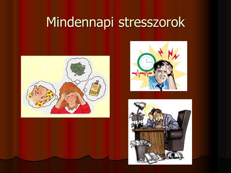 Mindennapi stresszorok