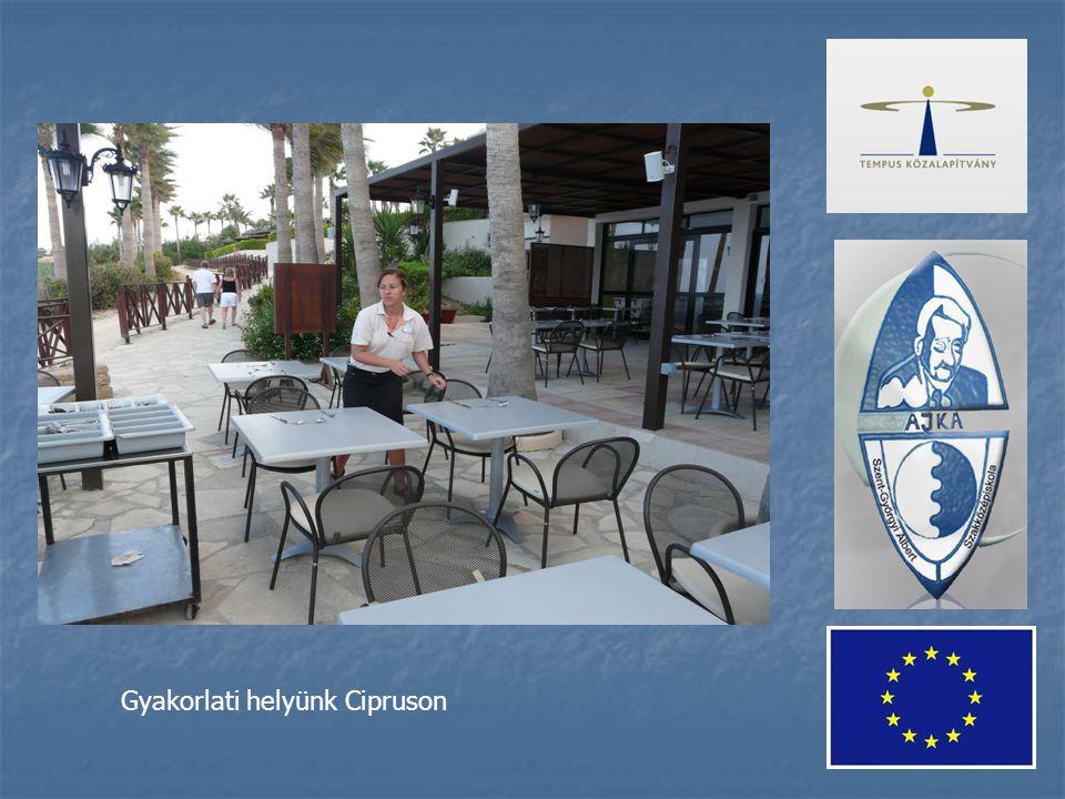 Gyakorlati helyünk Cipruson