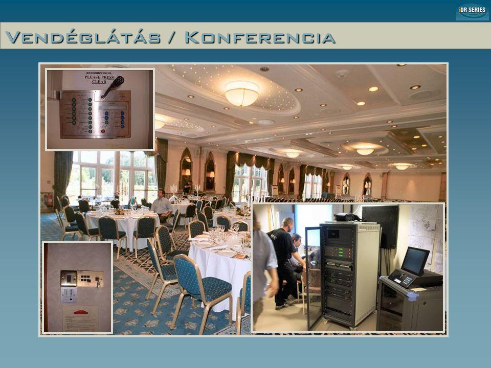 Vendéglátás / Konferencia