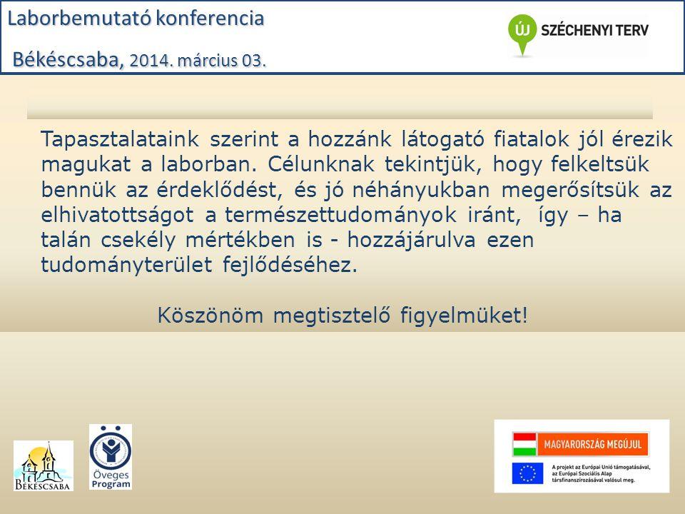 Laborfoglalkozás: Petőfi Általános Iskola 7.b kémia 2014.01.31.