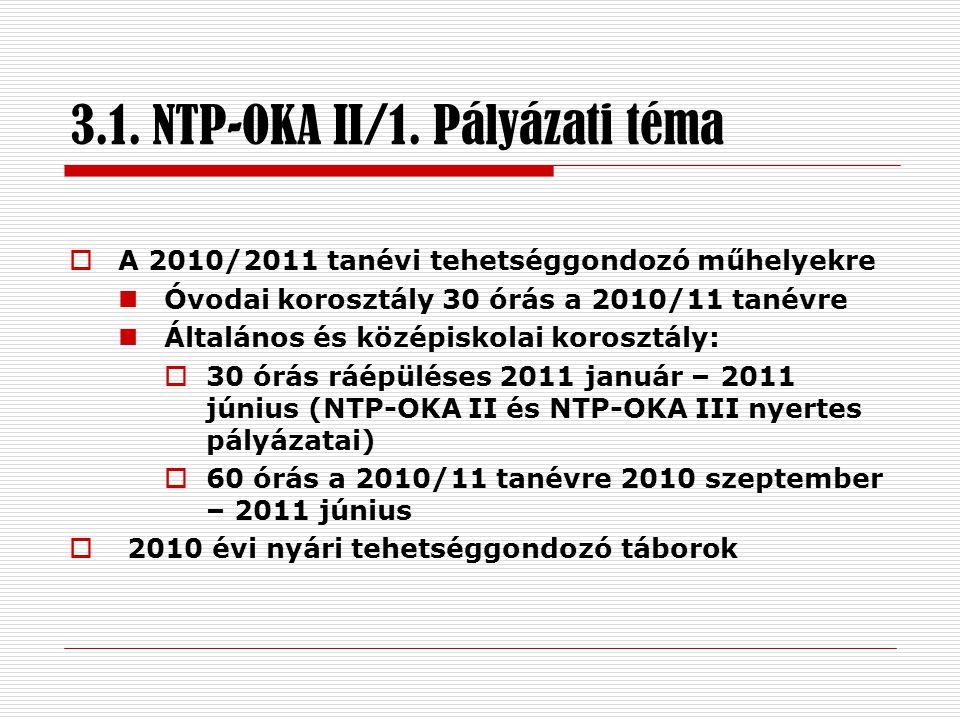 3.1. NTP-OKA II/1.