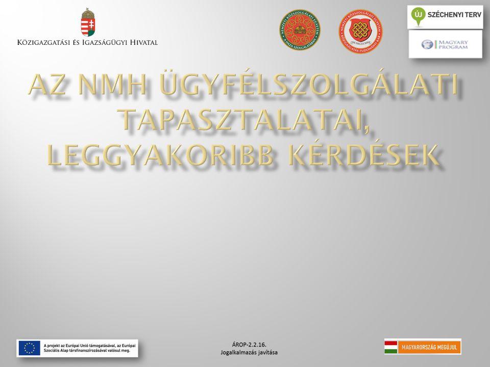 NMH Munkajogi Ügyfélszolgálata 1054 Budapest, Akadémia u.