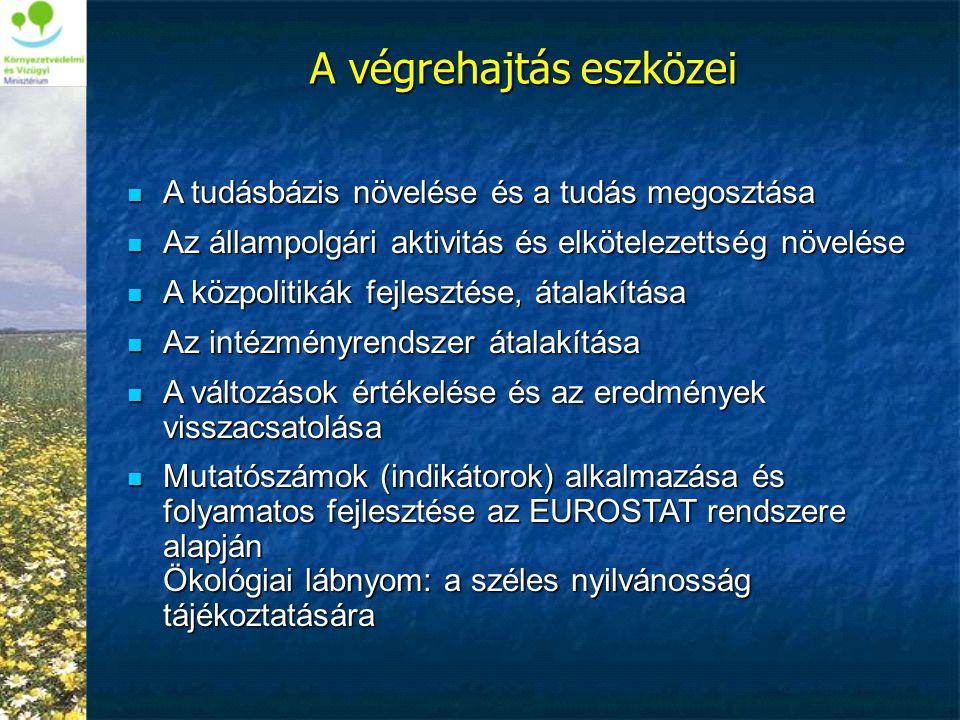  A tudásbázis növelése és a tudás megosztása  Az állampolgári aktivitás és elkötelezettség növelése  A közpolitikák fejlesztése, átalakítása  Az i