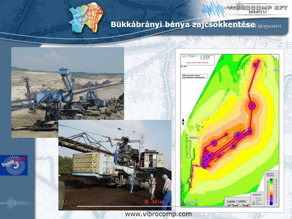 Bükkábrányi bánya zajcsökkentése www.vibrocomp.com