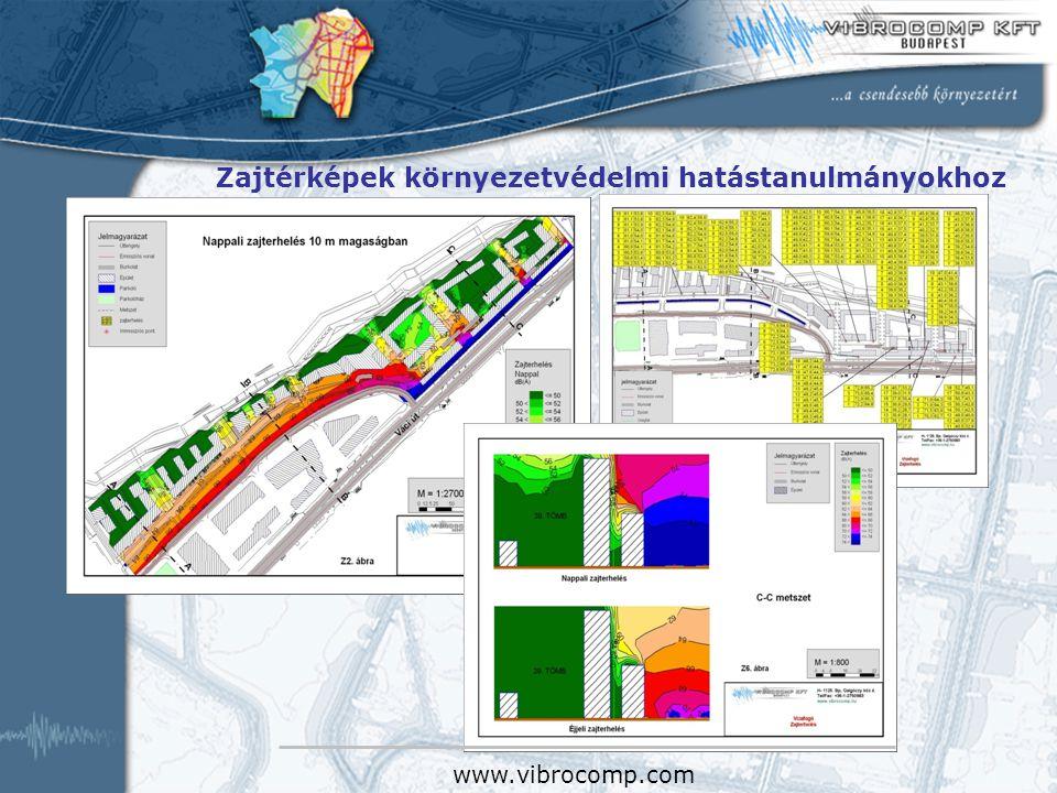 Kecskemét város térségi elérhetőségének javítása Kecskemét város intermodális pályaudvar és kapcsolódó közösségi közlekedési fejlesztések RMT környezetvédelmi fejezetei www.vibrocomp.com