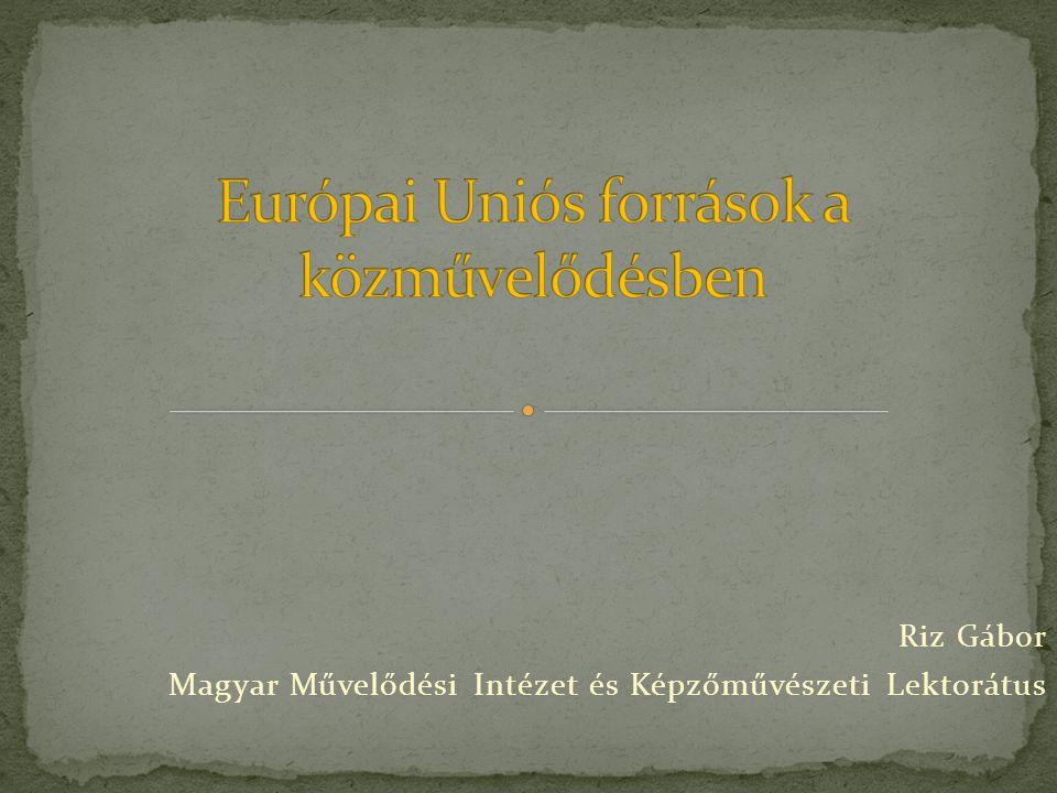 Riz Gábor Magyar Művelődési Intézet és Képzőművészeti Lektorátus