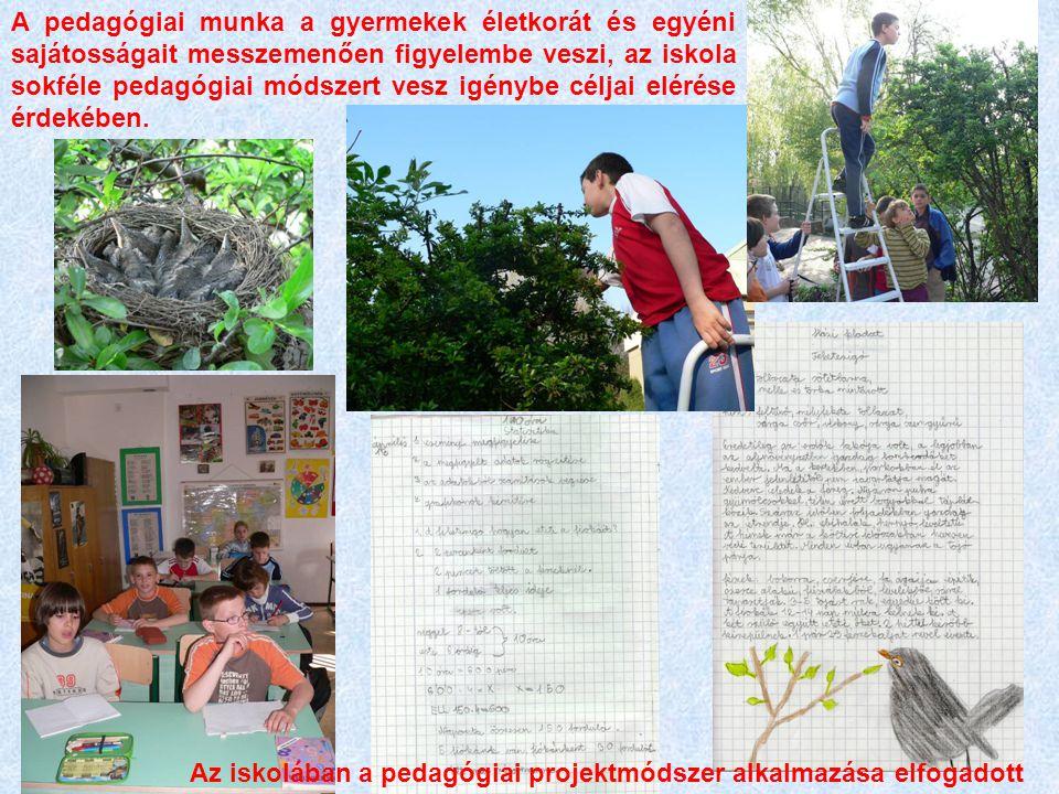 Az iskola belső kommunikációs csatornái (iskolaújság, rádió, faliújságok) tükrözik az ökoiskolai célokat.
