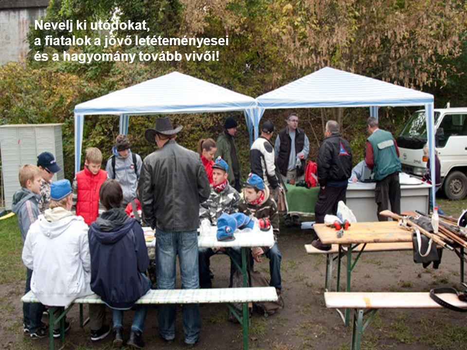 VáltozásMenedzsment ÉPÍTS KÖZÖSSÉGEKET! www.hajdusagimuzeum.hu39 Nevelj ki utódokat, a fiatalok a jövő letéteményesei és a hagyomány tovább vivői!
