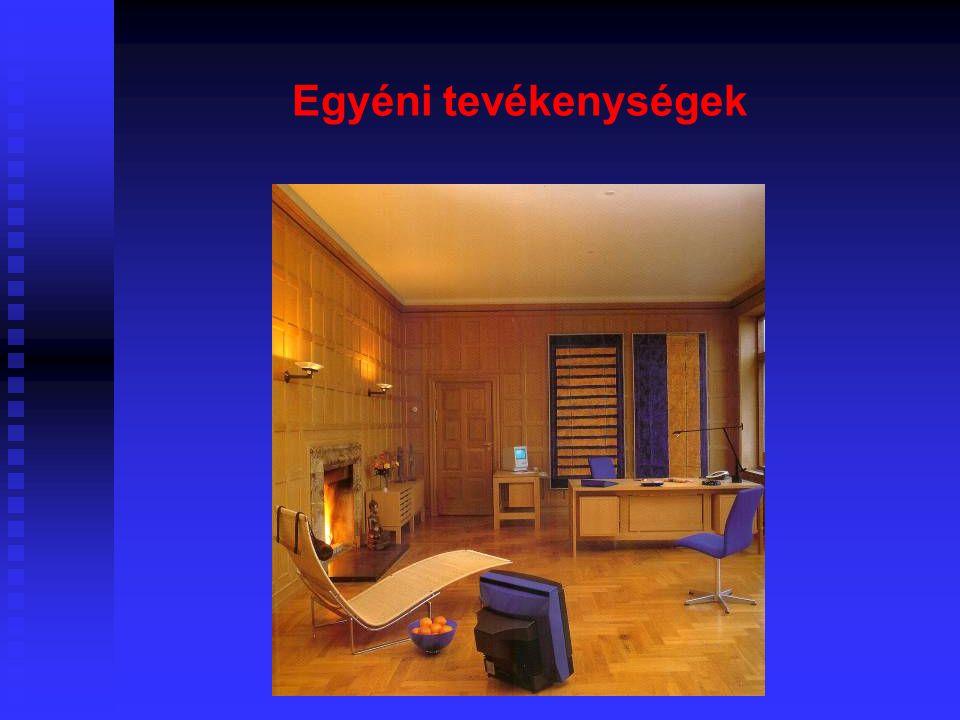 19  2 férőhelyesnél nagyobb lakásokban alvás céljára csak olyan helyiség szolgálhat, amelyet a lakás egyéb tereitől akusztikailag le lehet választani