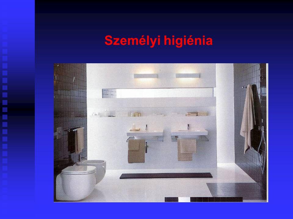 47 Bútorok és berendezések Minimális felszereltség:  Automata mosógép  Szárítóállvány vagy fregoli, ha szárítógép nincsen  Összecsukható vasalóállv