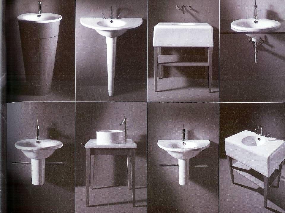 50 Mosdók  A mosdók általában elférnek 90 cm használati zónában  Kétmedencés, dupla mosdók is kaphatók, melyeket 2 személy legfeljebb kézmosásra has