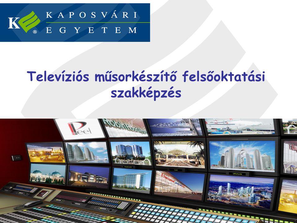 Televíziós műsorkészítő felsőoktatási szakképzés