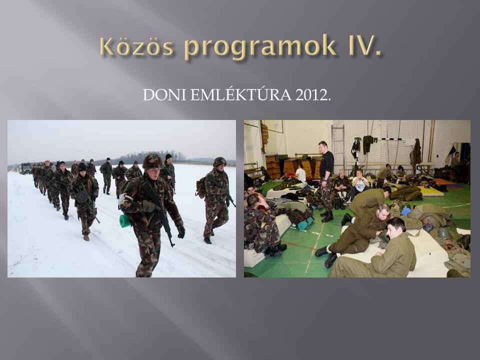 DONI EMLÉKTÚRA 2012.