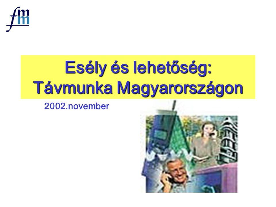 Esély és lehetőség: Távmunka Magyarországon 2002.november