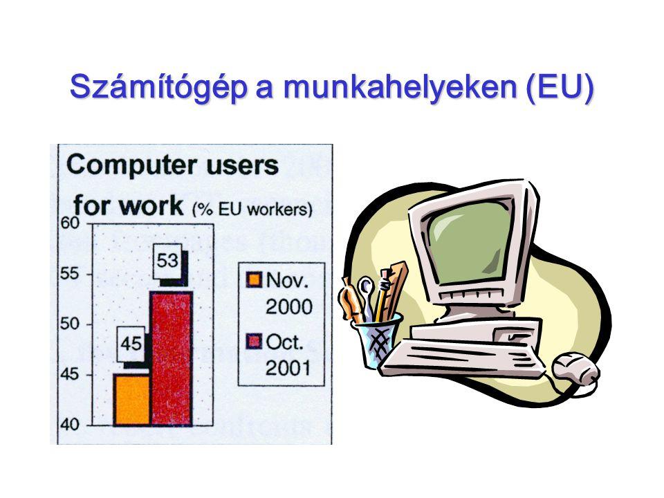 Számítógép a munkahelyeken (EU)