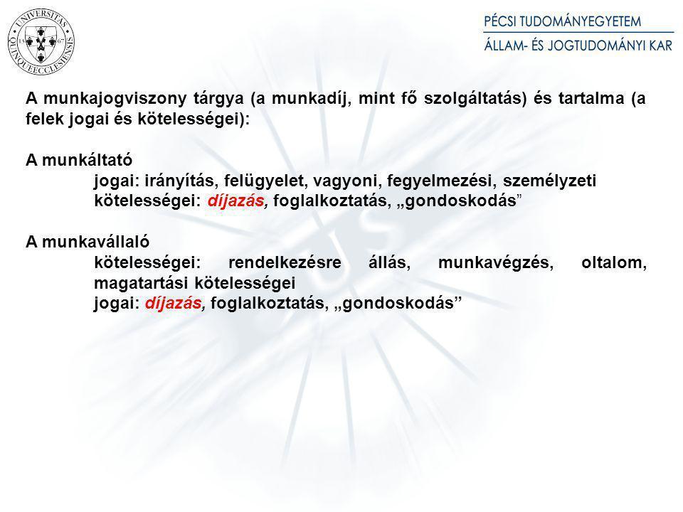 A munkaszerződés ingyenes szerződésként – a magyar munkajogban – érvénytelen [ld.