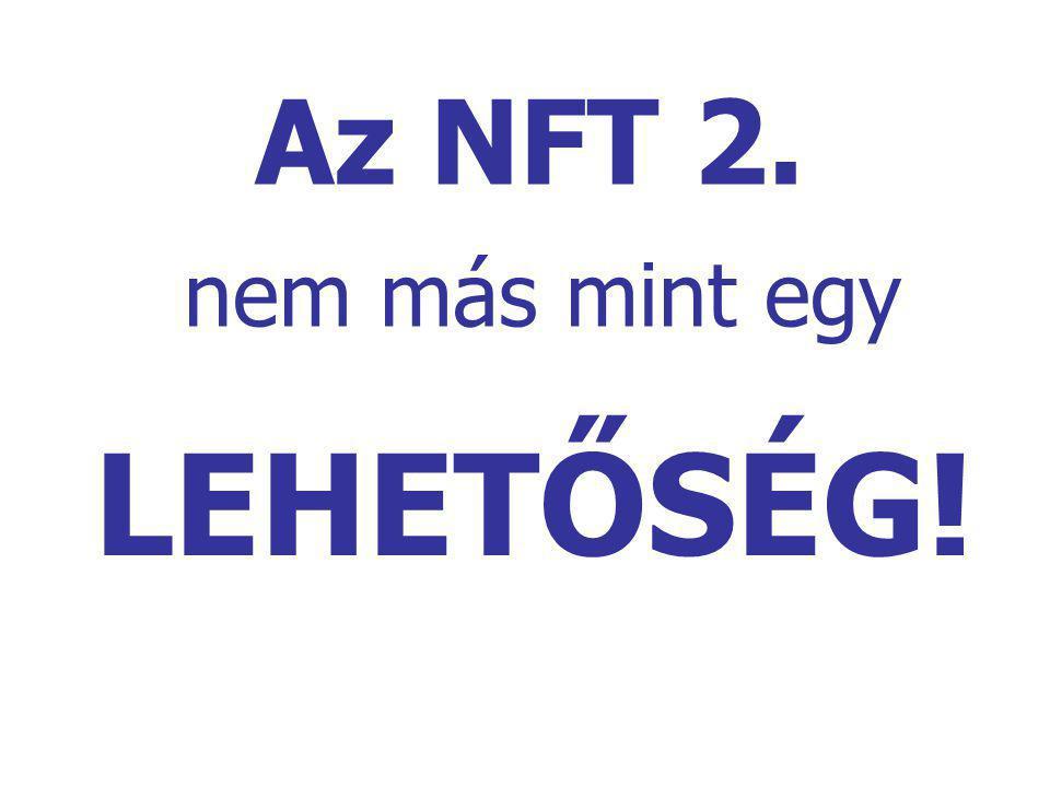 Az NFT 2. nem más mint egy LEHETŐSÉG!