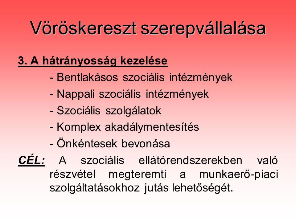 Vöröskereszt szerepvállalása 3.