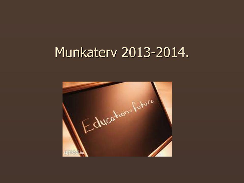 Munkaterv 2013-2014.