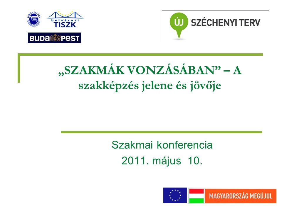 """""""SZAKMÁK VONZÁSÁBAN – A szakképzés jelene és jövője Szakmai konferencia 2011. május 10."""