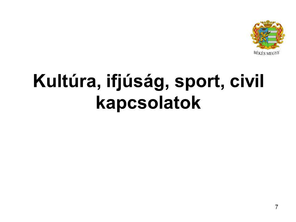 Kultúra, ifjúság, sport, civil kapcsolatok 7