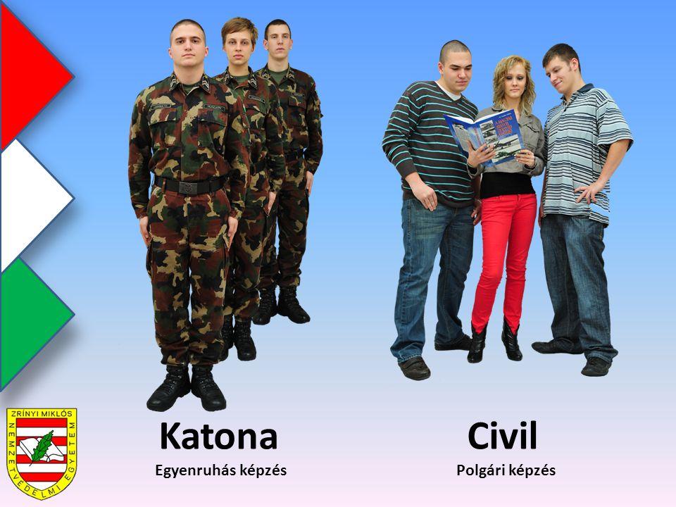Katona Civil Egyenruhás képzés Polgári képzés