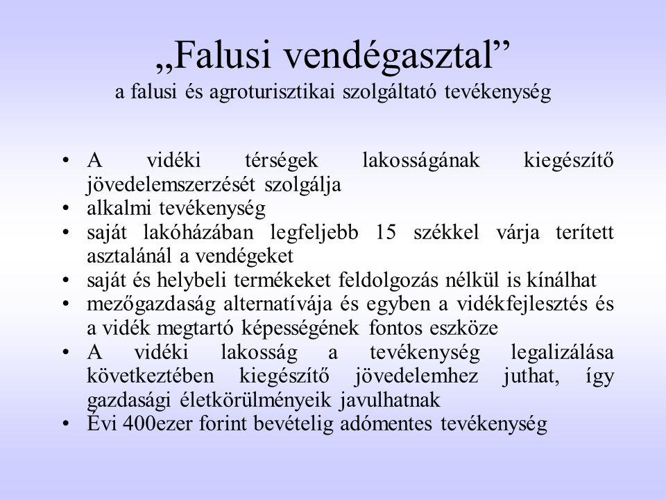 Jogszabályi háttér  110/1997.(VI. 25.) Korm.