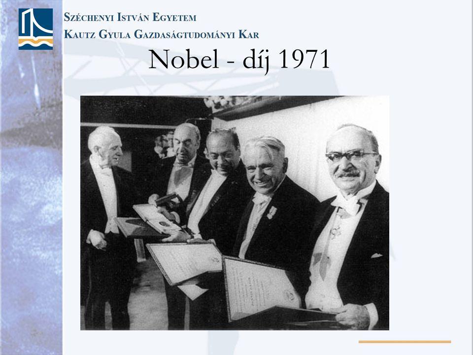 Nobel - díj 1971