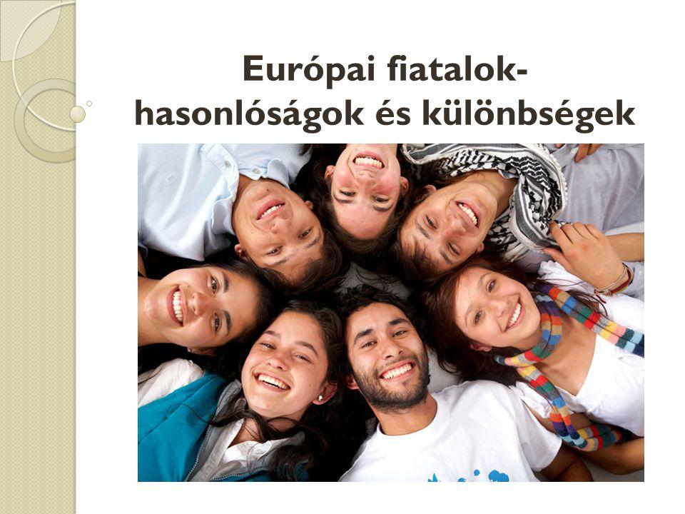 Európai fiatalok- hasonlóságok és különbségek