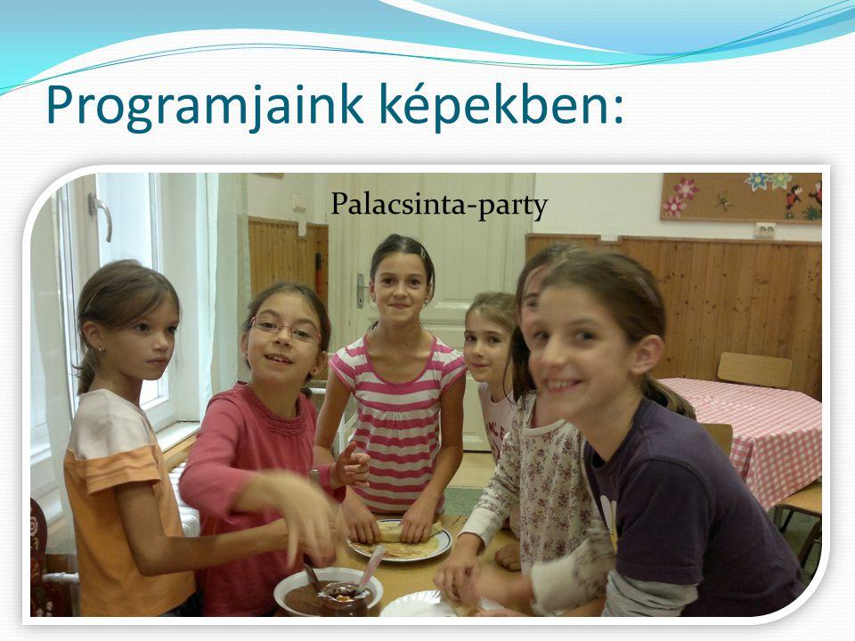 Programjaink képekben: Palacsinta-party