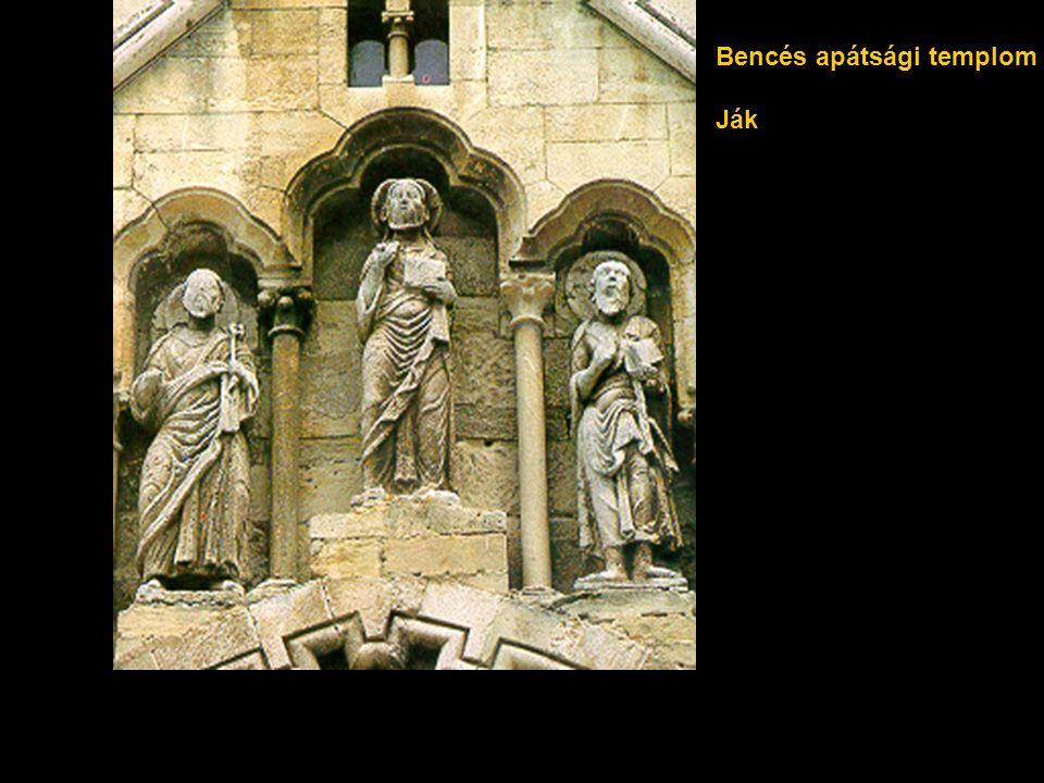 Bencés apátsági templom Ják
