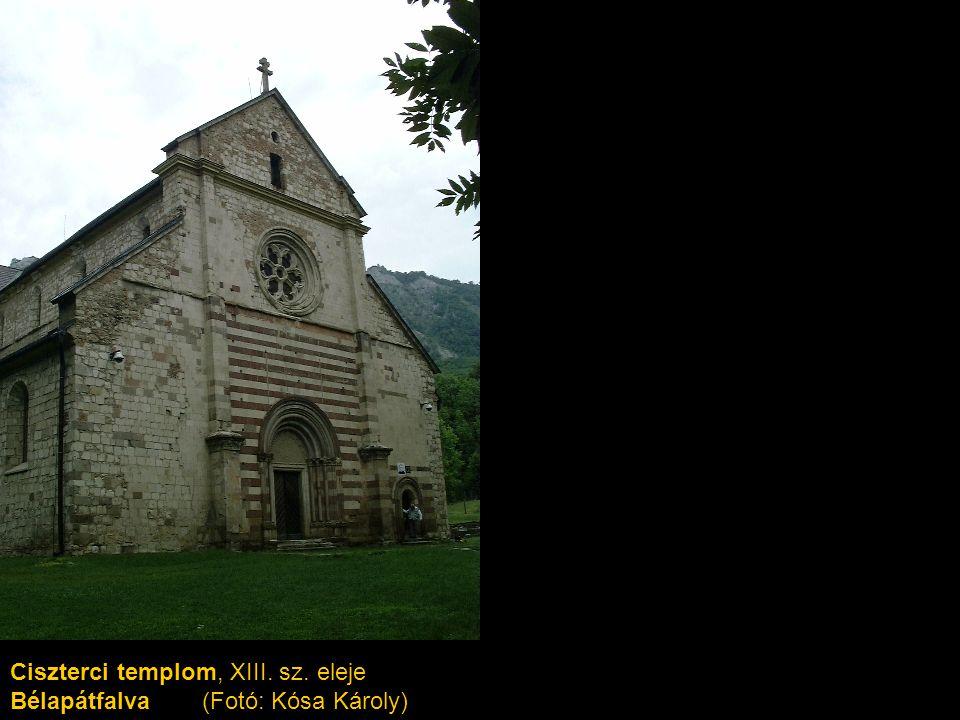 Ciszterci templom, XIII. sz. eleje Bélapátfalva (Fotó: Kósa Károly)
