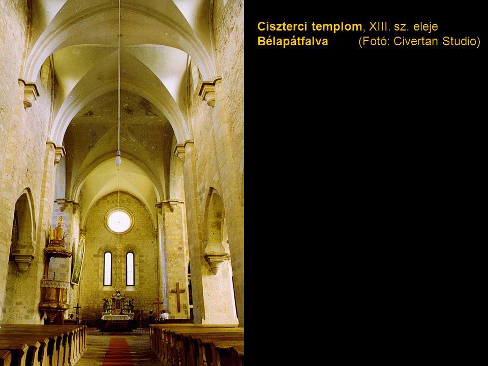 Ciszterci templom, XIII. sz. eleje Bélapátfalva (Fotó: Civertan Studio)