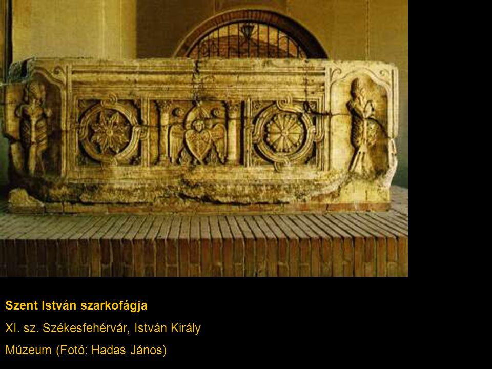 Szent István szarkofágja XI. sz. Székesfehérvár, István Király Múzeum (Fotó: Hadas János)