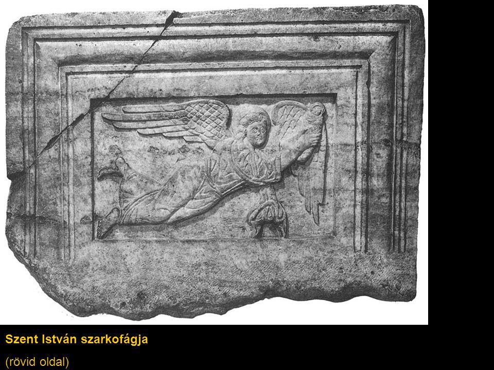Szent István szarkofágja (rövid oldal)