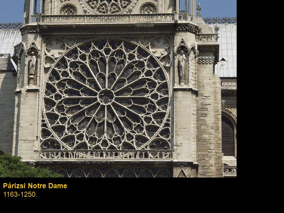 Párizsi Notre Dame 1163-1250.