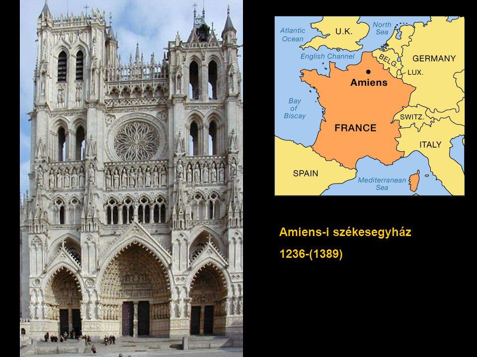 Amiens-i székesegyház 1236-(1389)