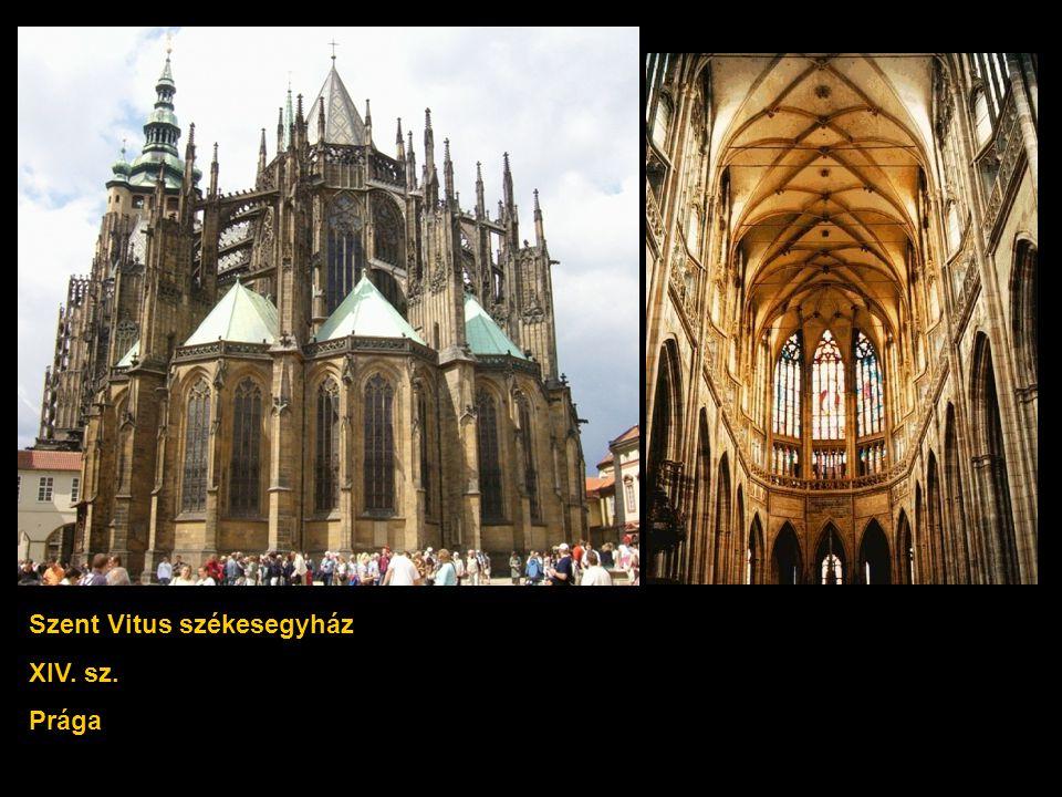 Szent Vitus székesegyház XIV. sz. Prága