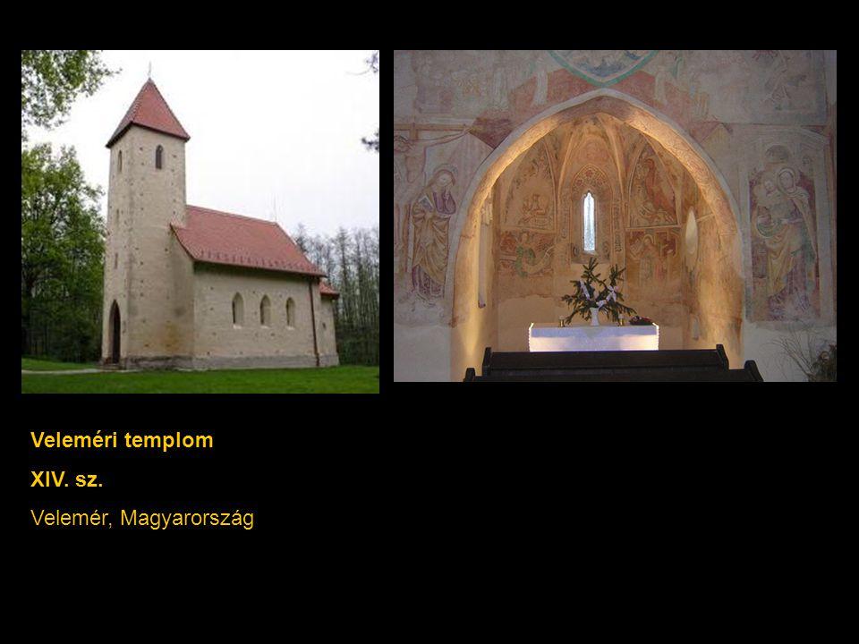 Veleméri templom XIV. sz. Velemér, Magyarország