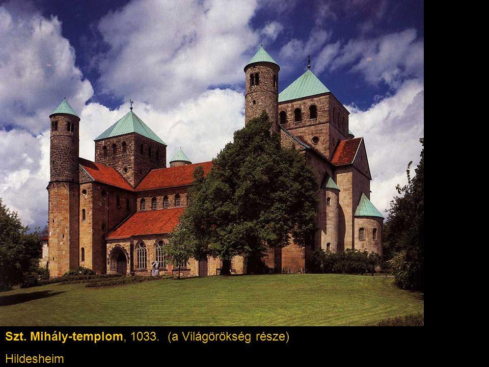 Szt. Mihály-templom, 1033. (a Világörökség része) Hildesheim