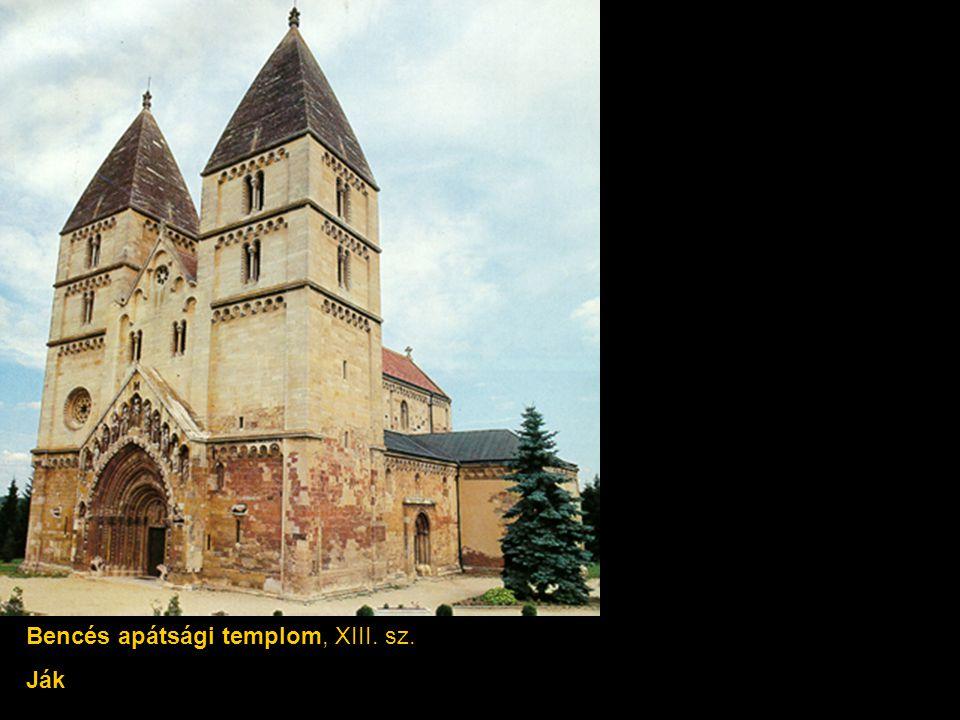 Bencés apátsági templom, XIII. sz. Ják